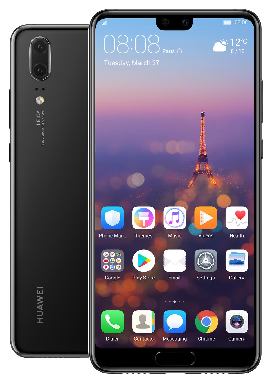 Smartfon HUAWEI P20 64GB - kolor czarny lub purpurowy - gratis słuchawki dokanałowe HUAWEI AM61 o wartości 149,99 zł - 3 kolory do wyboru!