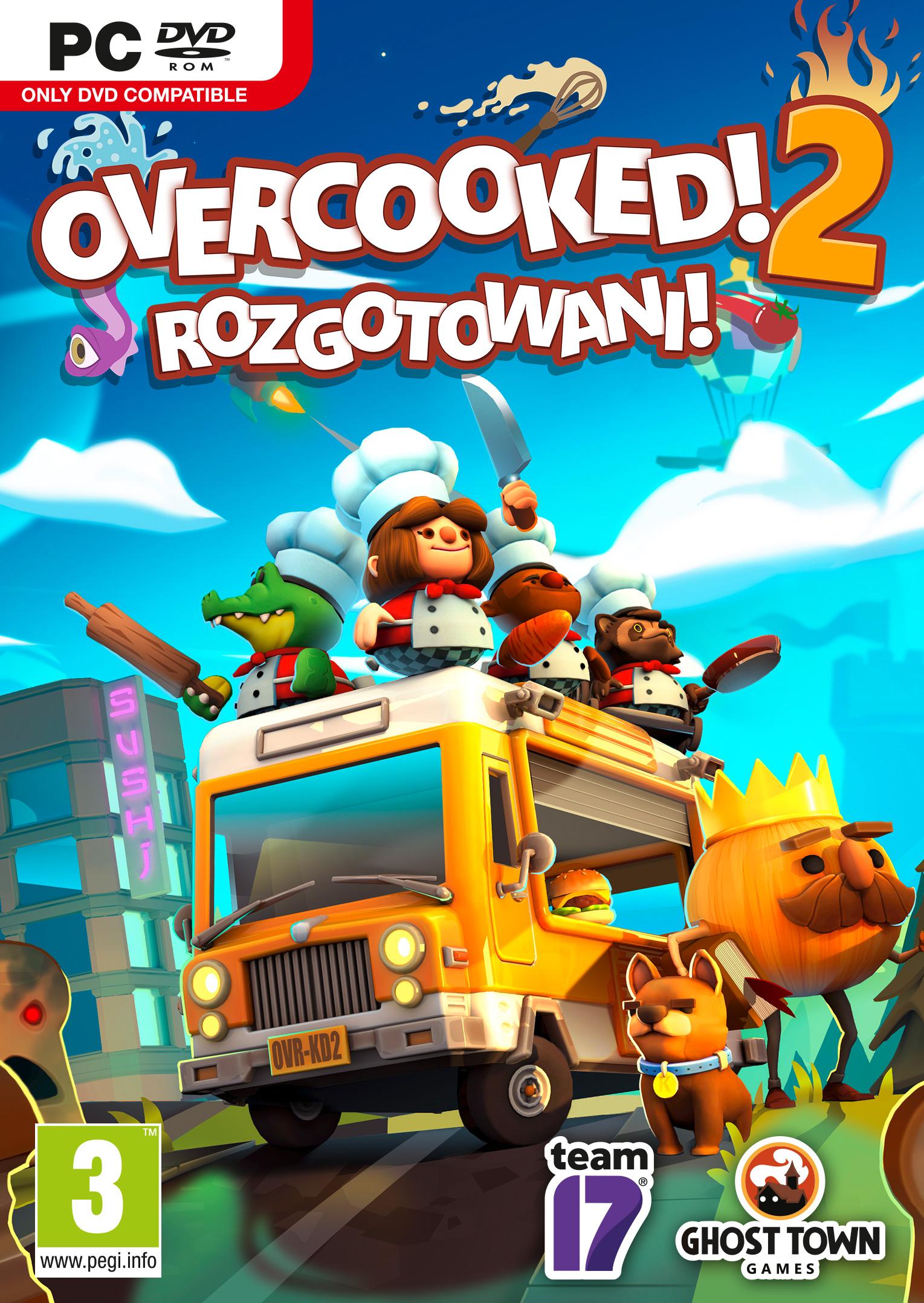 Overcooked 2: Rozgotowani PC