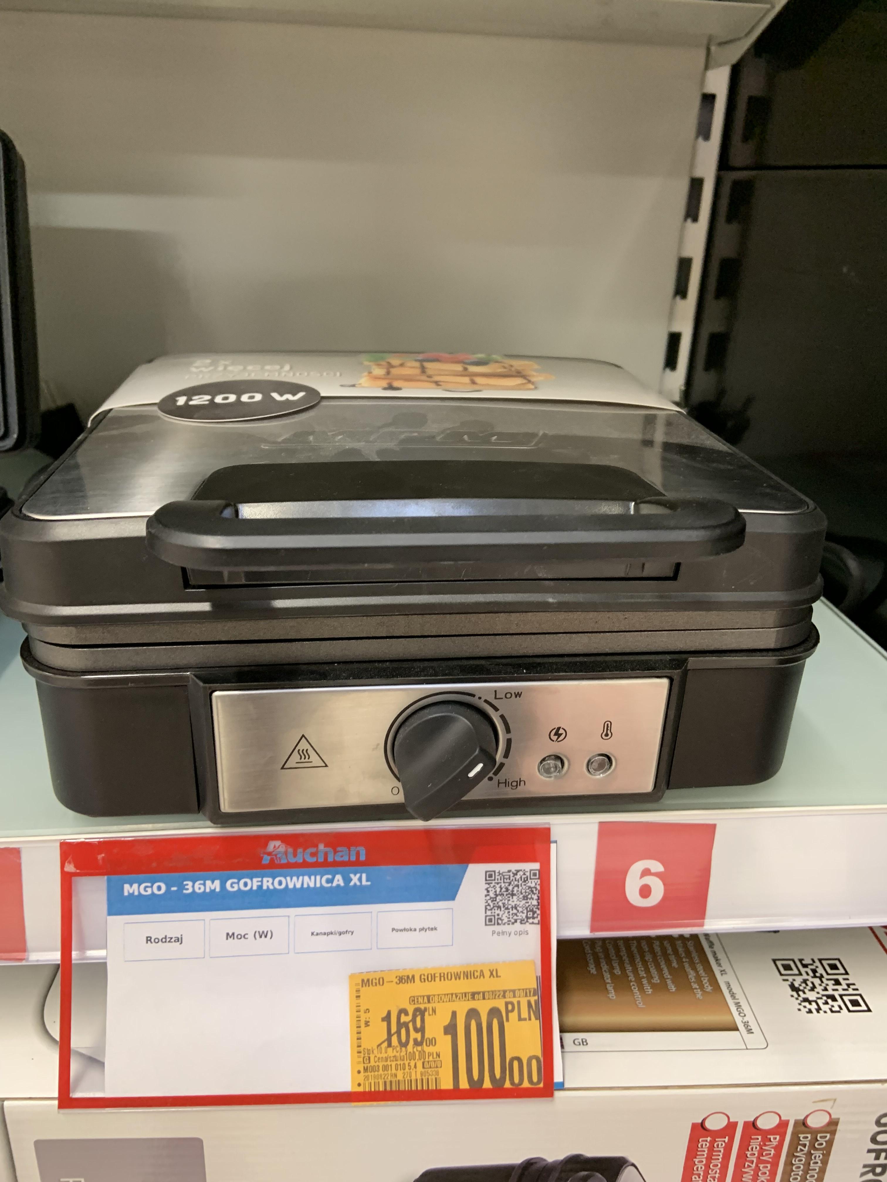 Gofrownica XL MPM MGO-36M - Auchan, Pasaż Łódzki