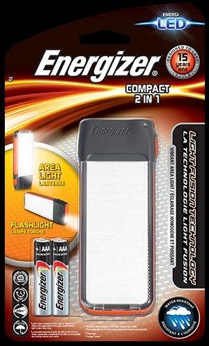 Latarka LED Energizer Fusion Compact 2in1 2xAAA, IPX4 wodoodporna, odbiór w sklepie 0 zł