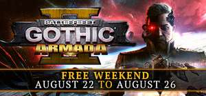 Darmowy weekend z Battlefleet Gothic: Armada 2 @Steam
