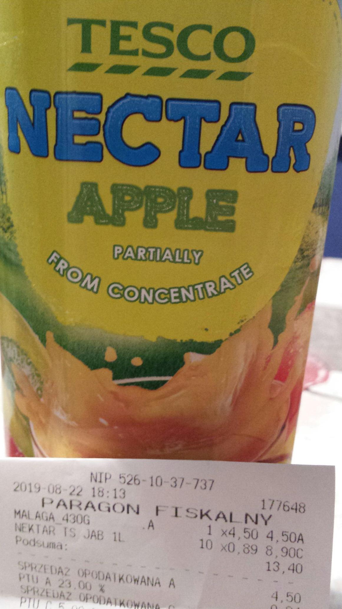 Nektar jabłkowy