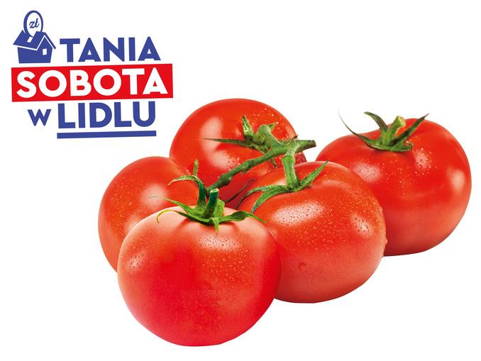 Lidl, pomidory kiściowe, luzem