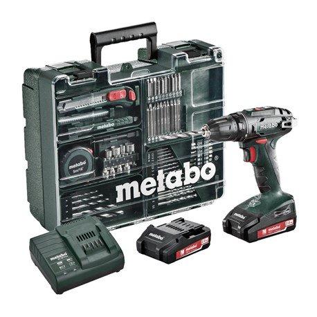 Metabo Wkrętarka BS 18 Set