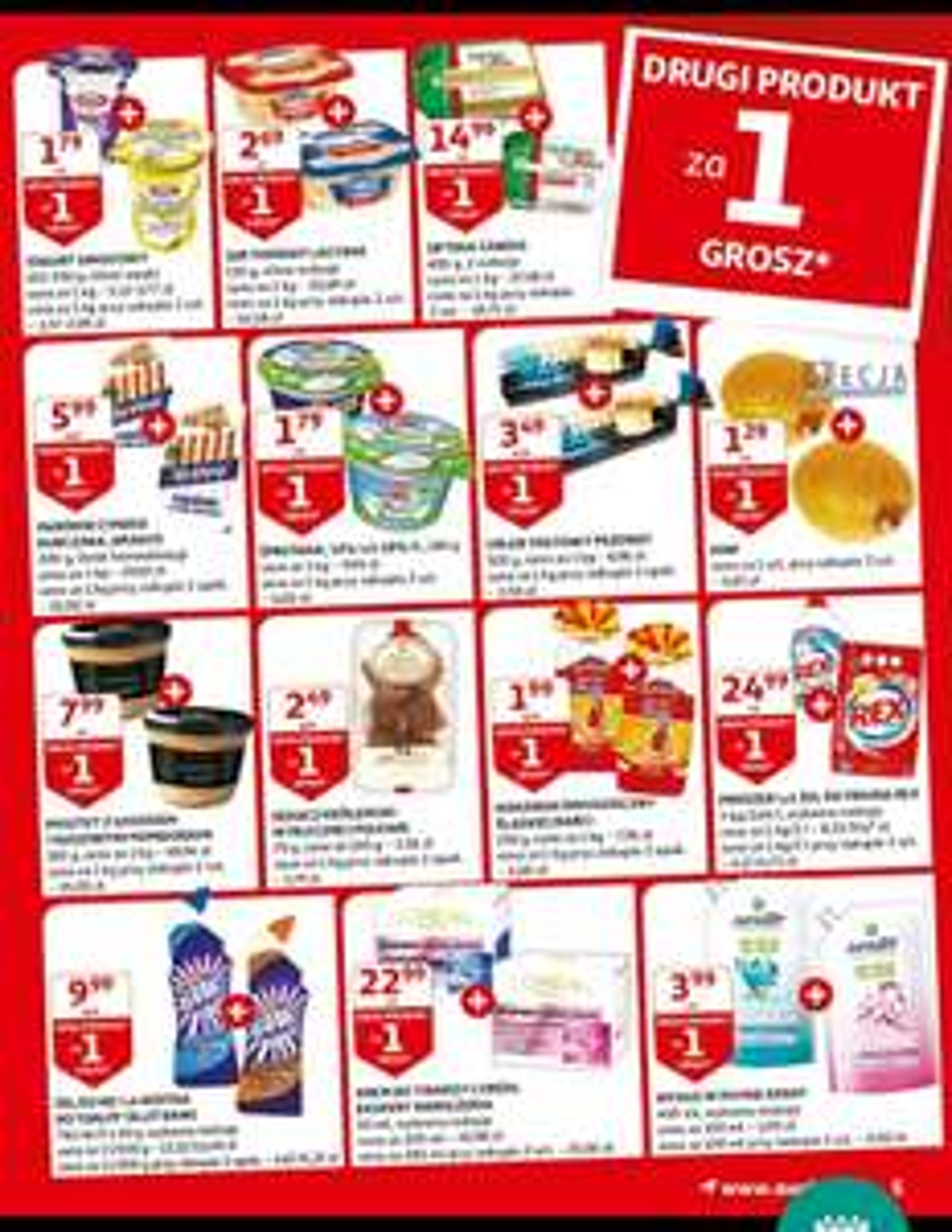 Auchan drugi produkt za 1 grosz