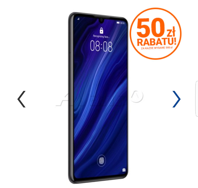 Smartfon HUAWEI P30 6/128GB Czarny