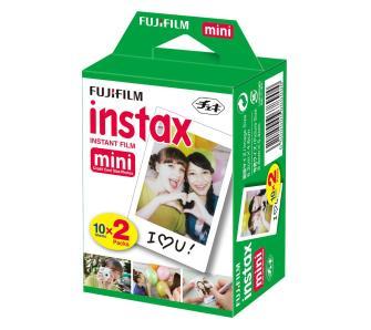 Wkłady do aparatu Fujifilm INSTAX 2 x 10 szt., odbiór w sklepie 0 zł