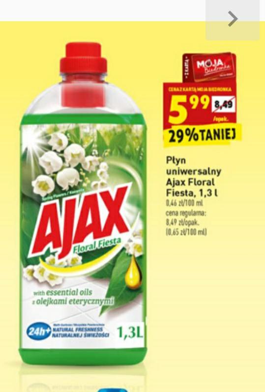 Płyn uniwersalny Ajax Floral Fiesta 1.3 L