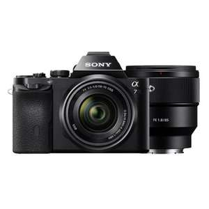 Sony Alpha 7 ILCE-7 + FE 28-70 F / 3.5-5.6 + FE 85 mm f / 1.8