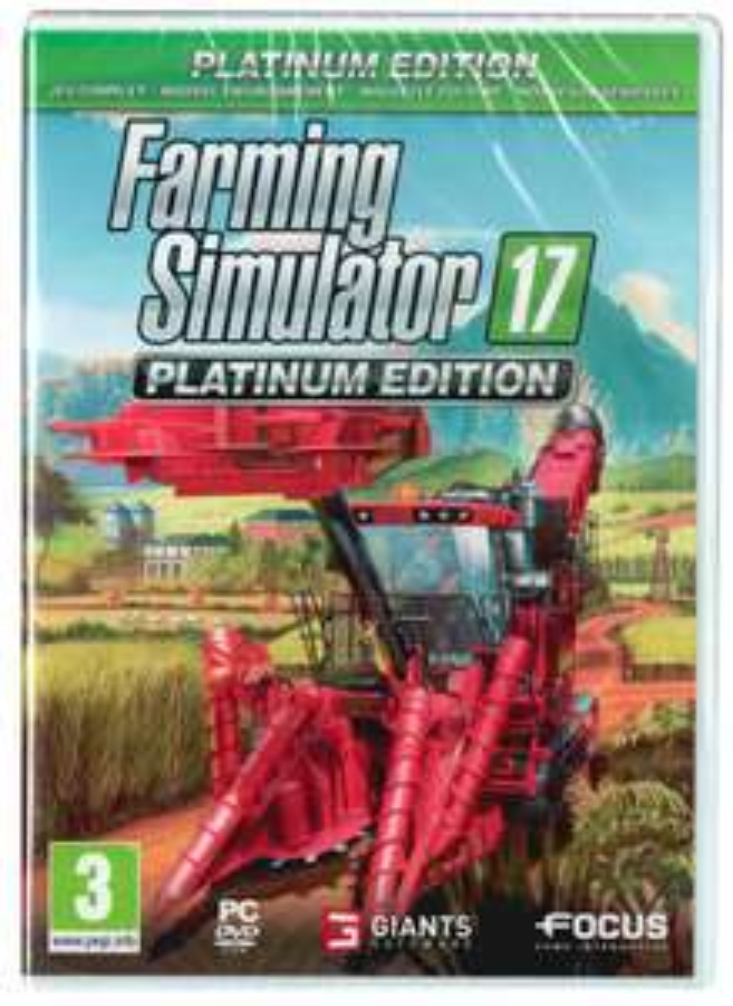 Farming Simulator 17 PC - edycja platynowa za 34,9zł
