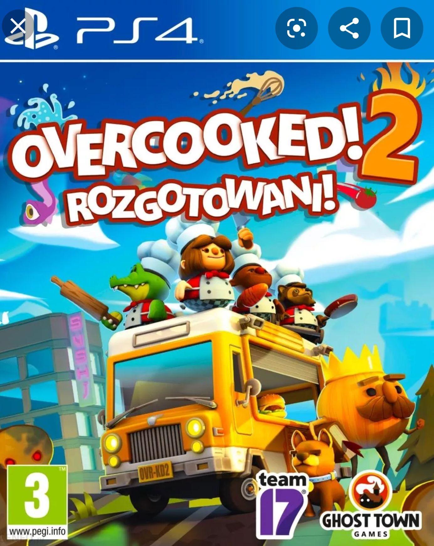 Gra PS4 Overcooked 2: Rozgotowani