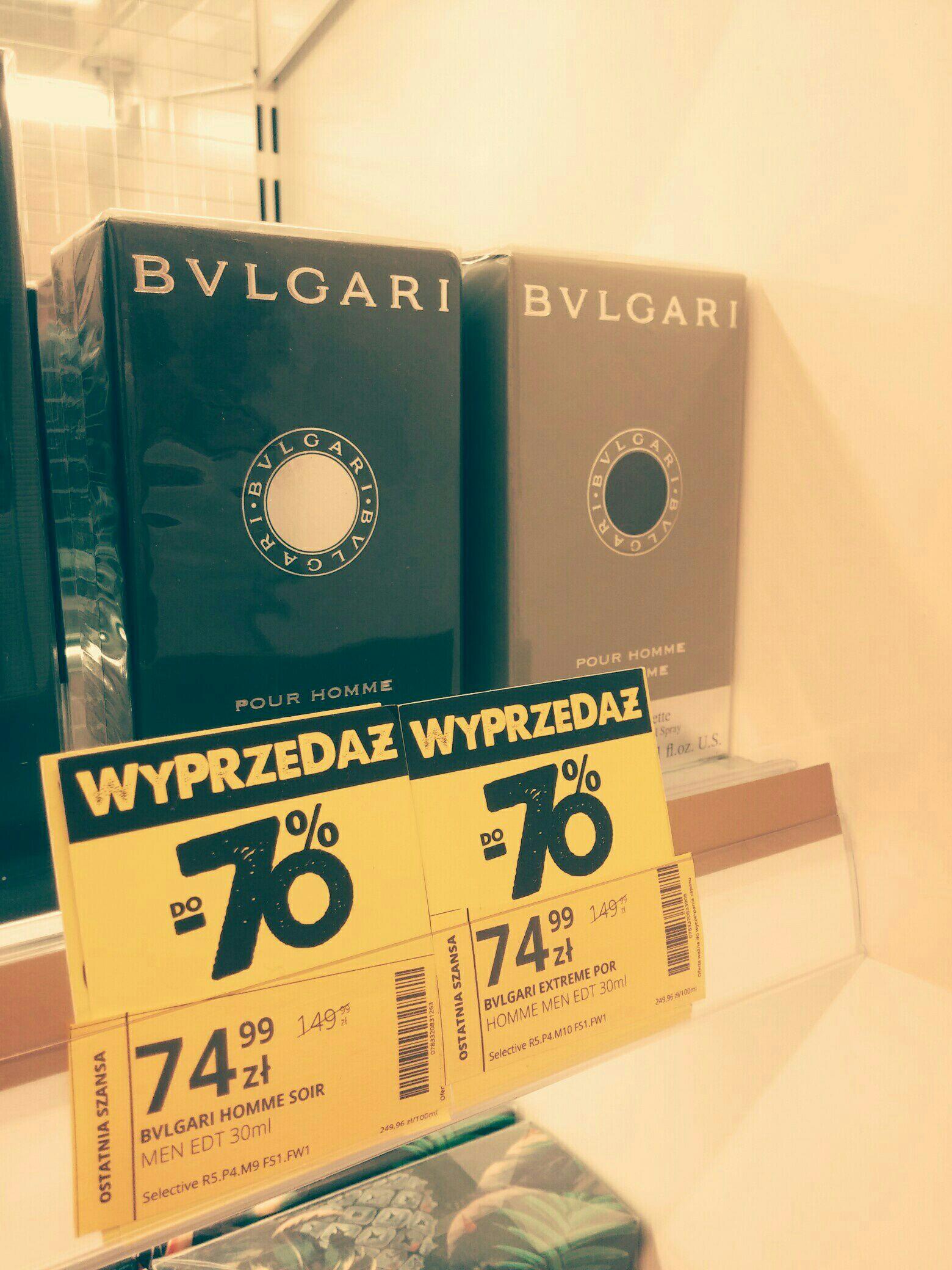 BVLGARI (MEN EDT 30ML): wody toaletowe Extreme i Soir  @Hebe
