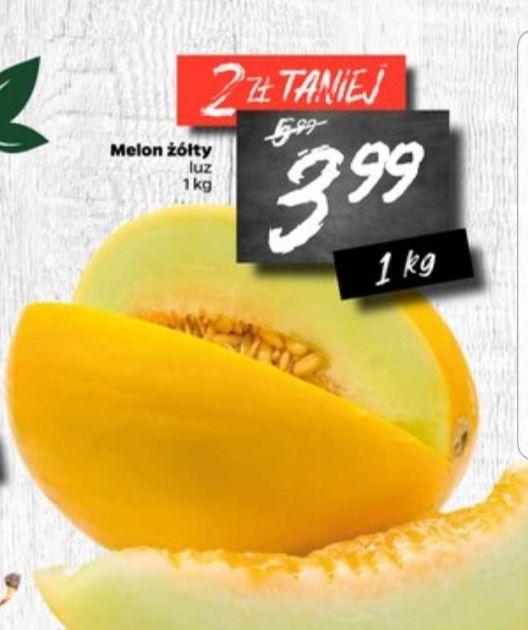 Melon żółty 3,99zł/kg Netto