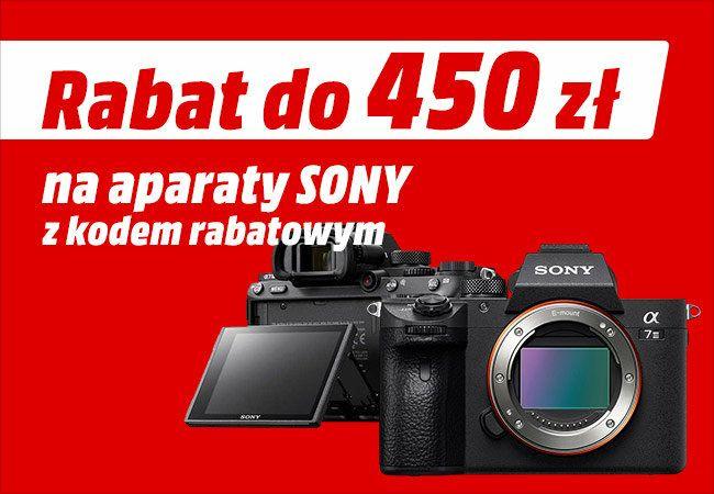 Promocja na aparaty Sony w Media Markt
