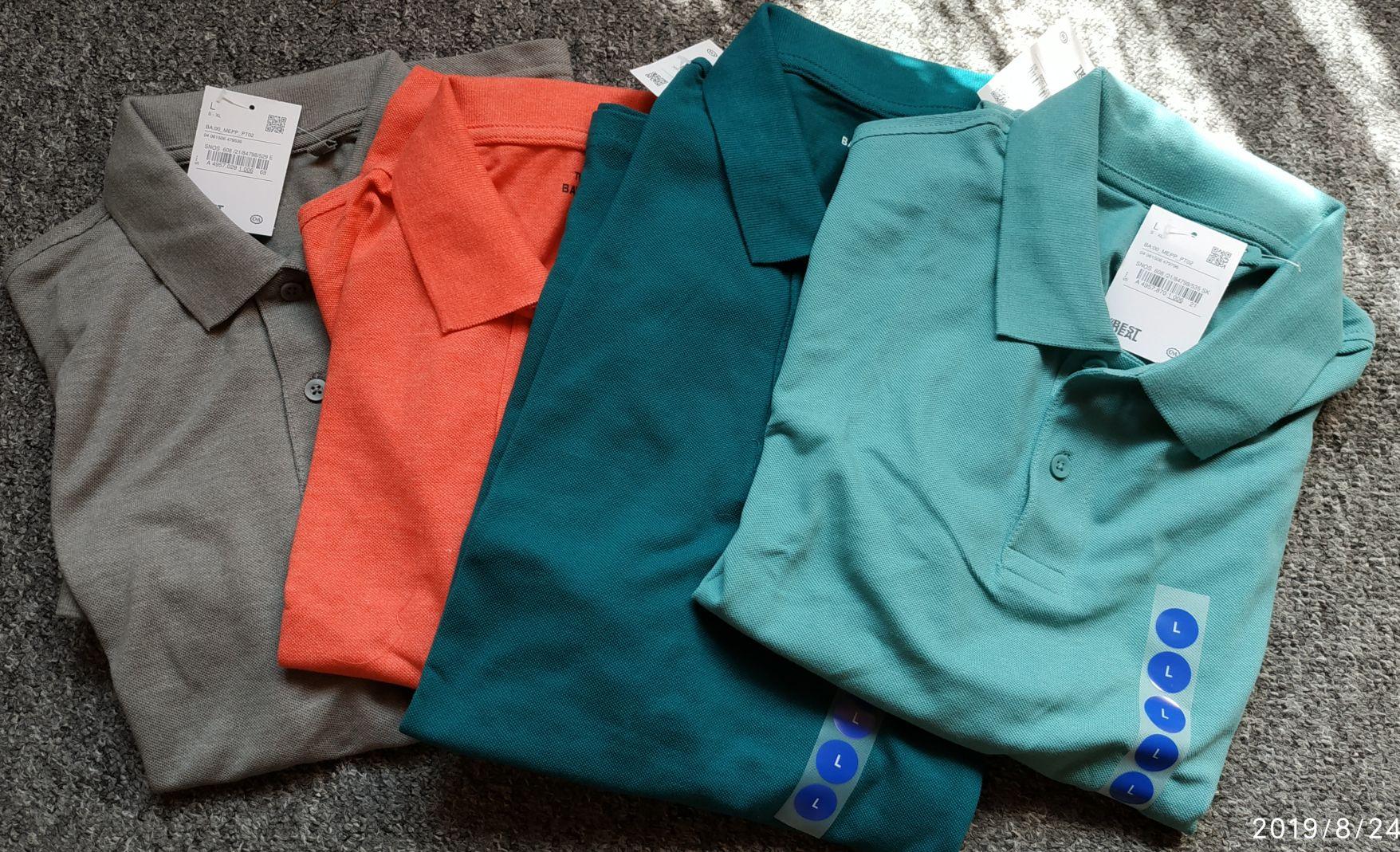 Koszulki polo różne kolory C&A Kraków Factory