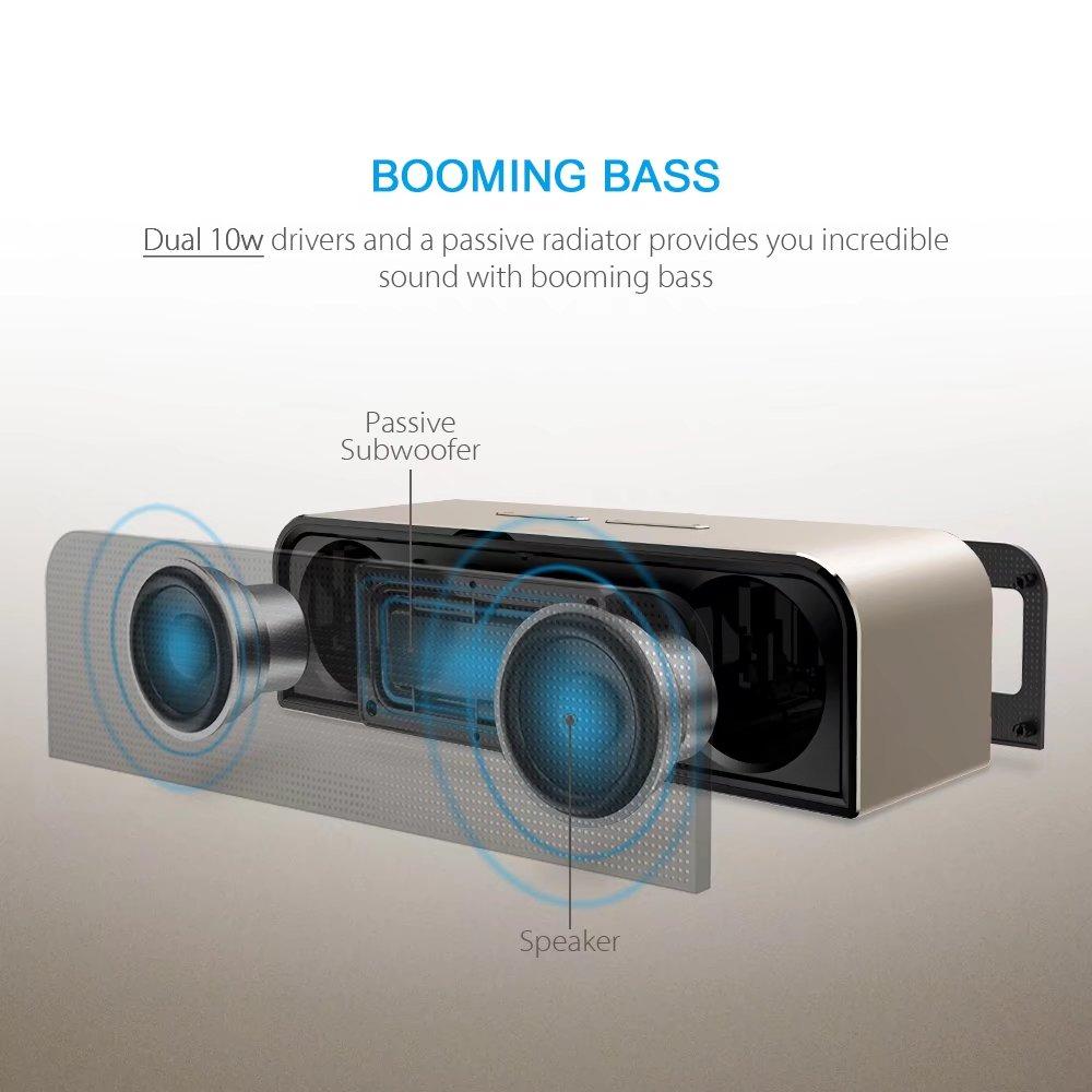 Manta SPK905/9008 - najlepiej brzmiący głośnik Bluetooth do ~200 zł