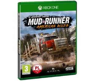 RTVeuroAGD Spintires: MudRunner Edycja American Wilds Xbox One PlayStation 4.