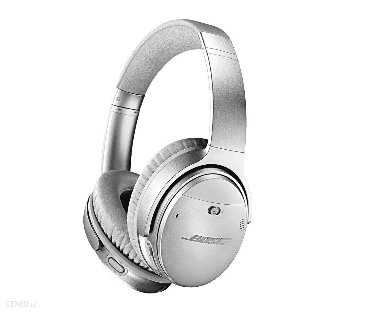 Słuchawki Bose Quietcomfort 35 II srebrne - Media Markt