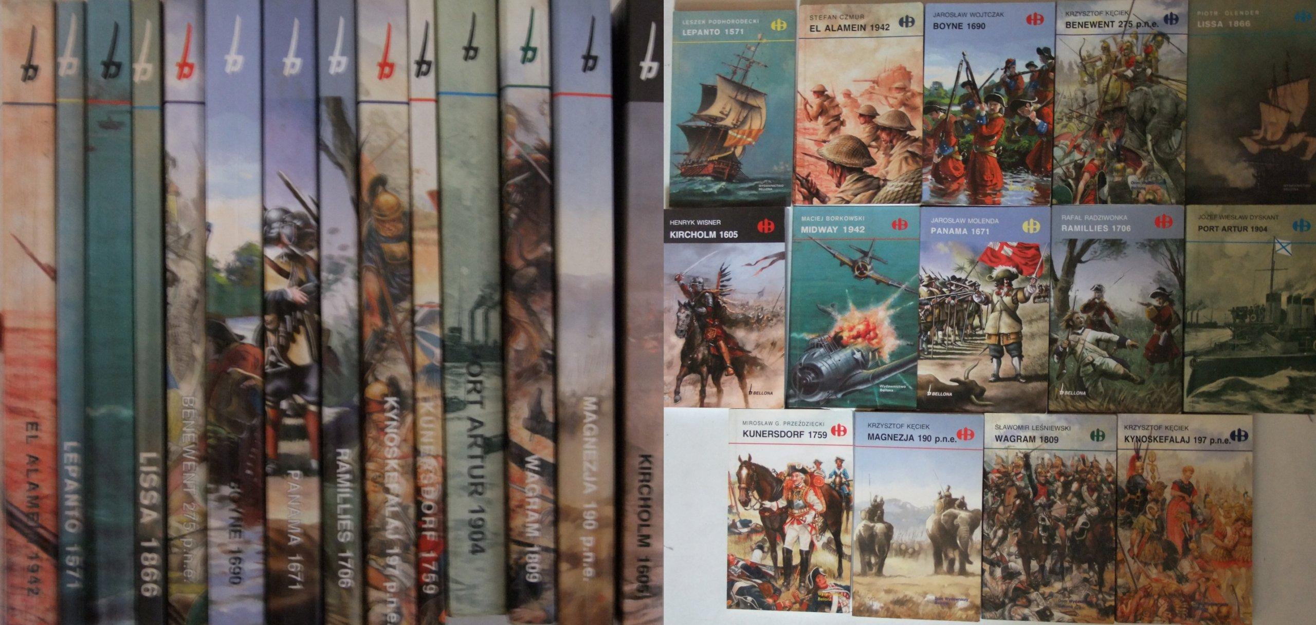 Carrefour Książki z serii Historyczne bitwy wyd. Bellona