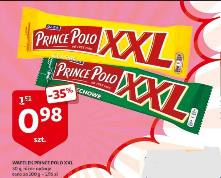 Prince Polo XXL Auchan