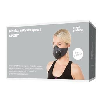 Maska antysmogowa SPORT - 50% OKAZJA na zbliżający się SMOG ;)
