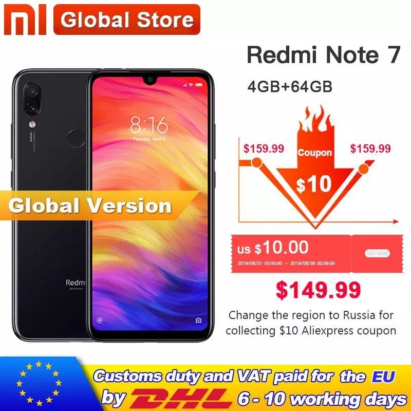 Xiaomi redmi note 7 64/4 czarny. Cena od jutra w wyprzedaży