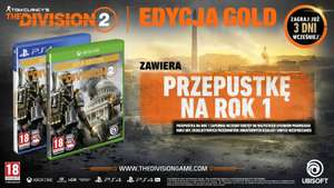 Tom Clancy's The Division 2 Edycja Gold na Xbox One