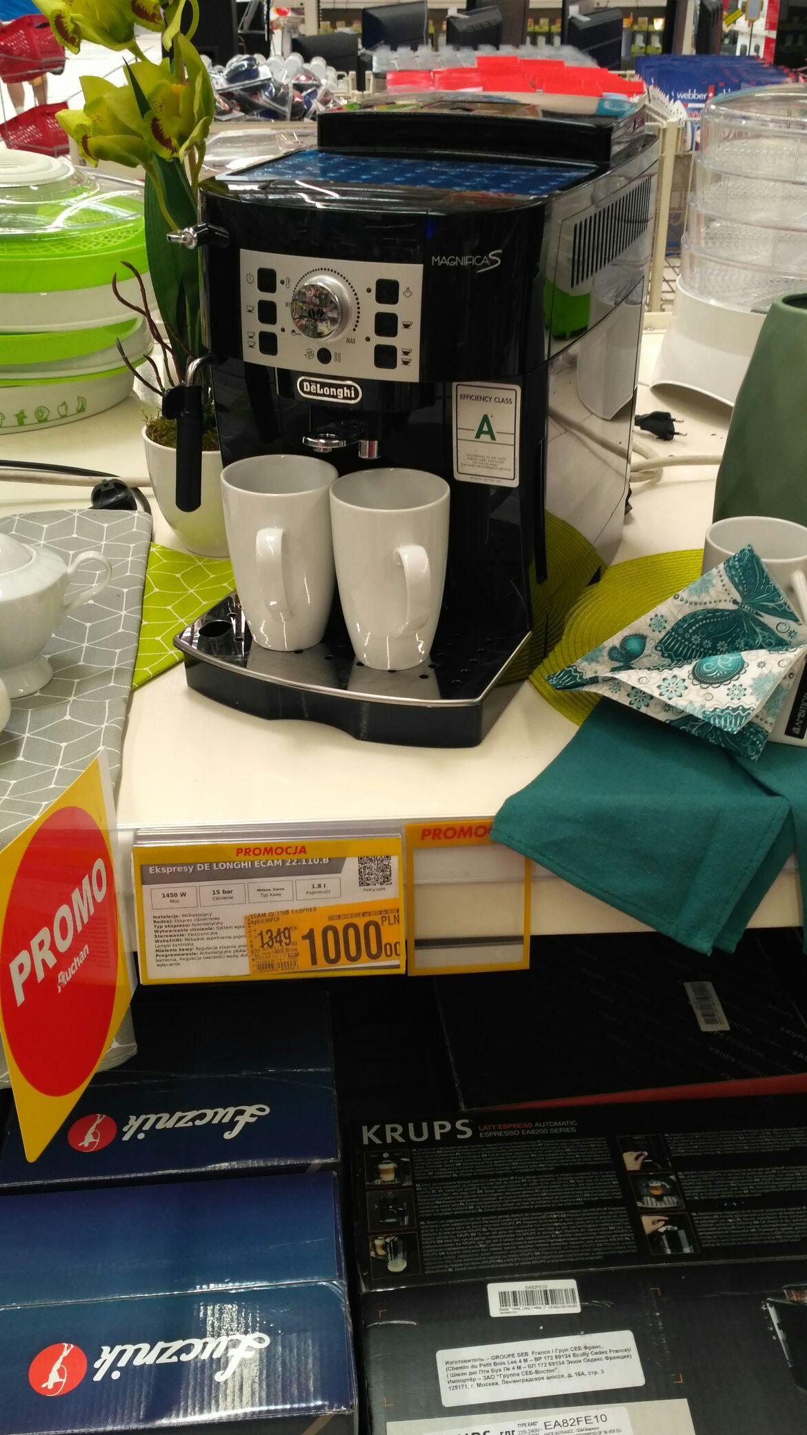 Express do kawy De Longhi Auchan Katowice DTS