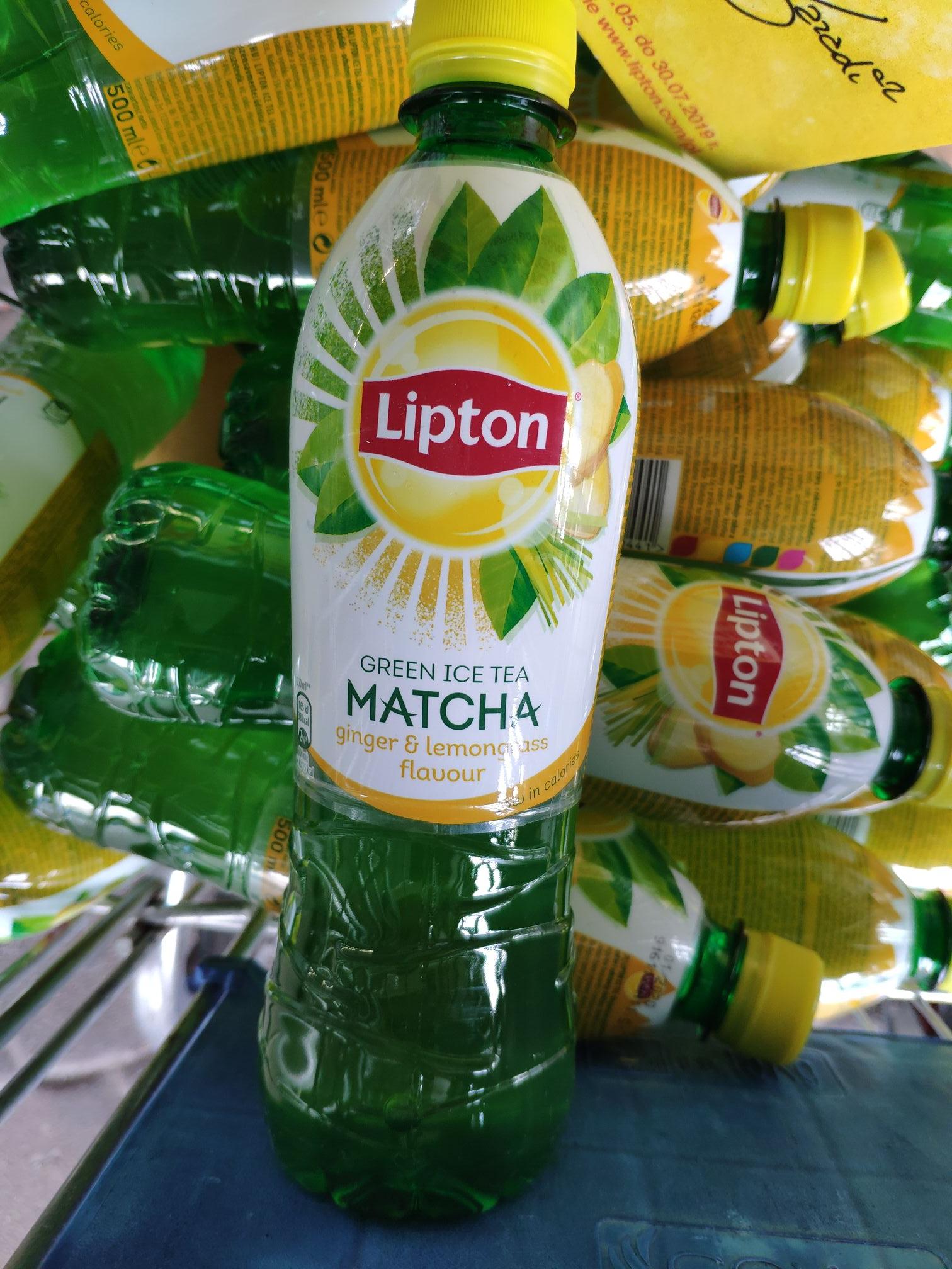 Lipton matcha 0,5l Tesco +rabat minusujacy