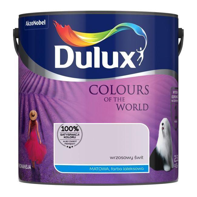 Farba Dulux różne rodzaje i kolory wyprzedaż 5L 40zł 2.5L 20zł Castorama Swarzędz