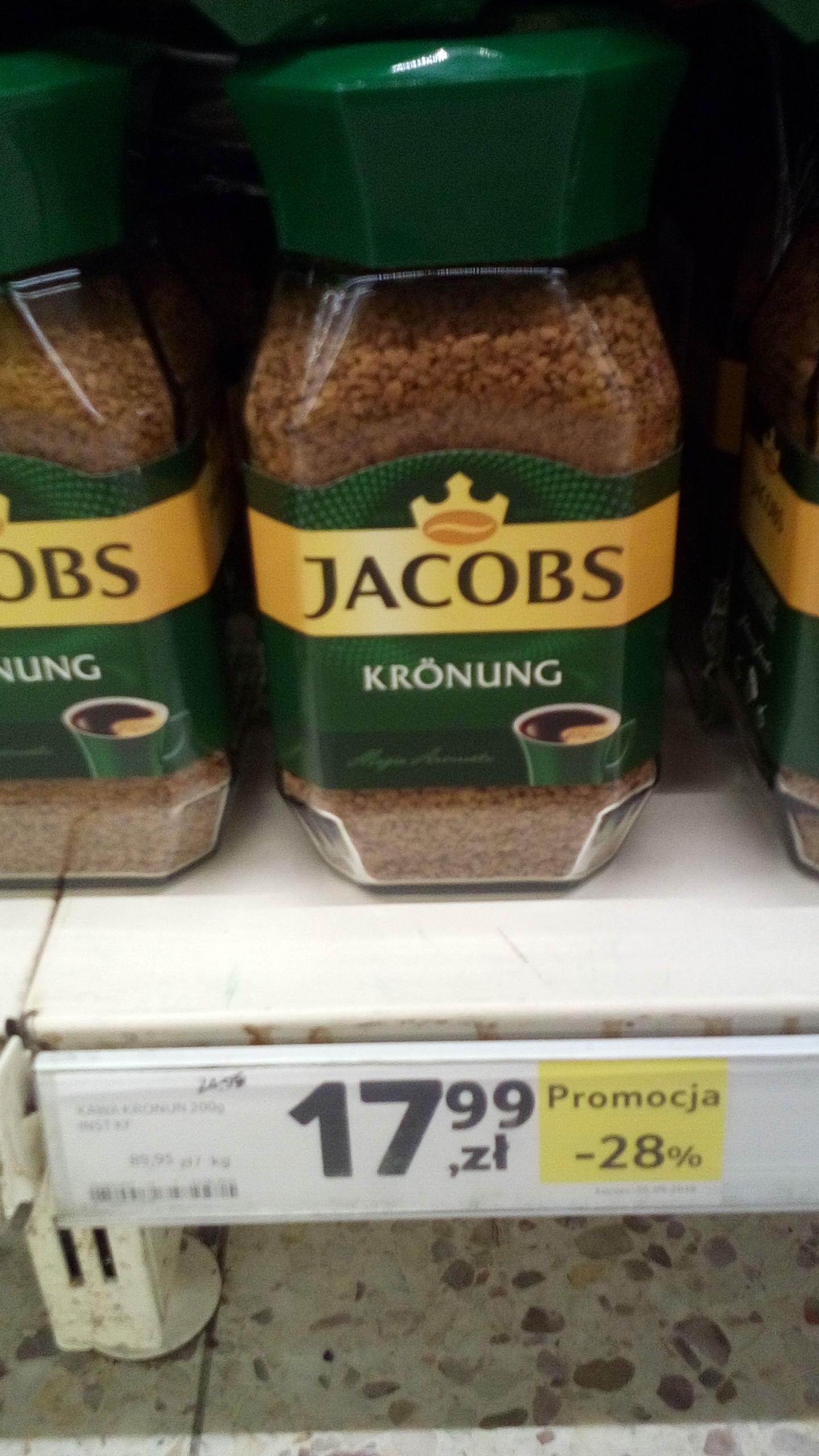 Tesco, kawa Jacobs Kronung 200g