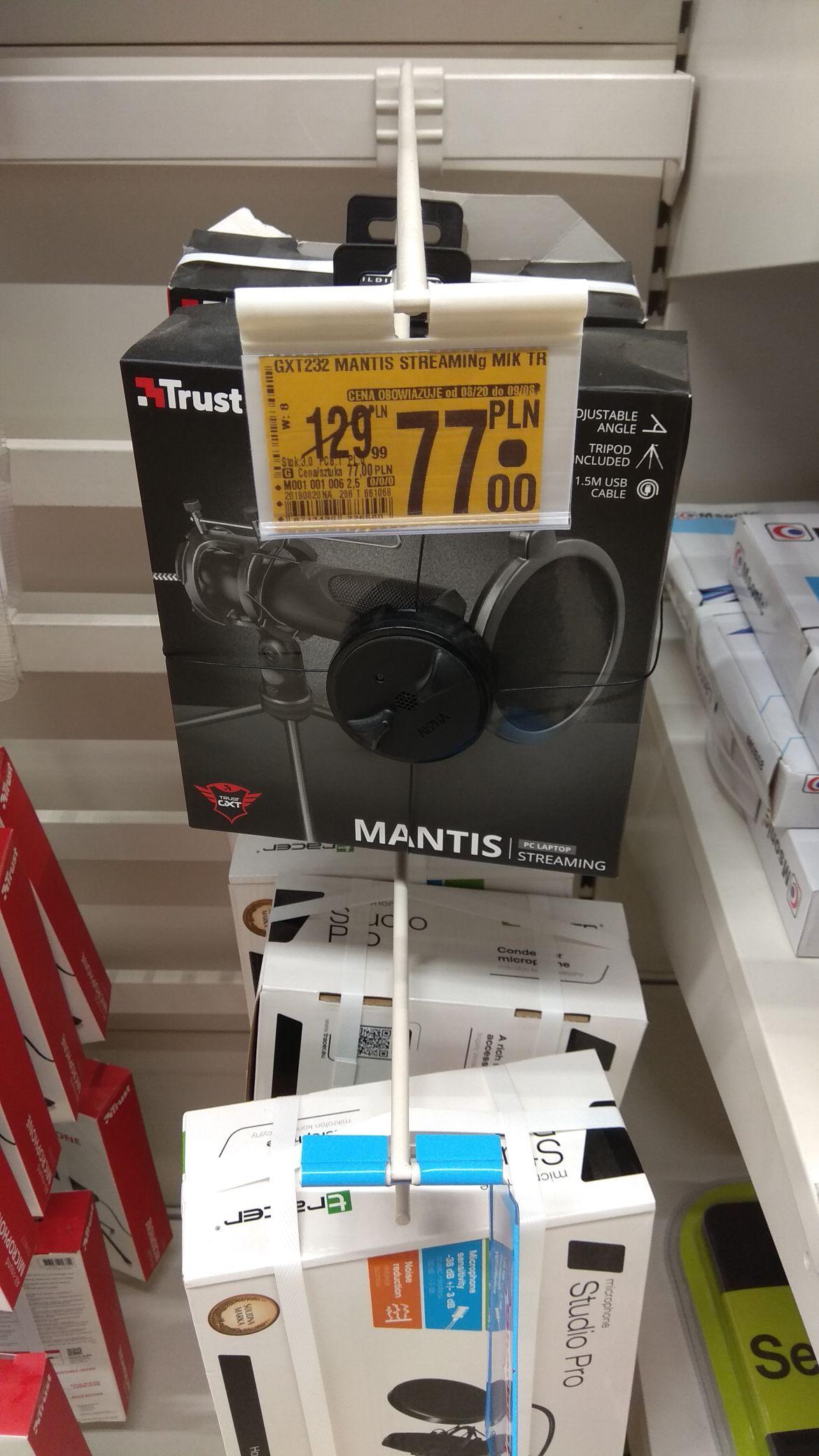 Mikrofon trust mantis, Auchan Bydgoszcz Rejewskiego
