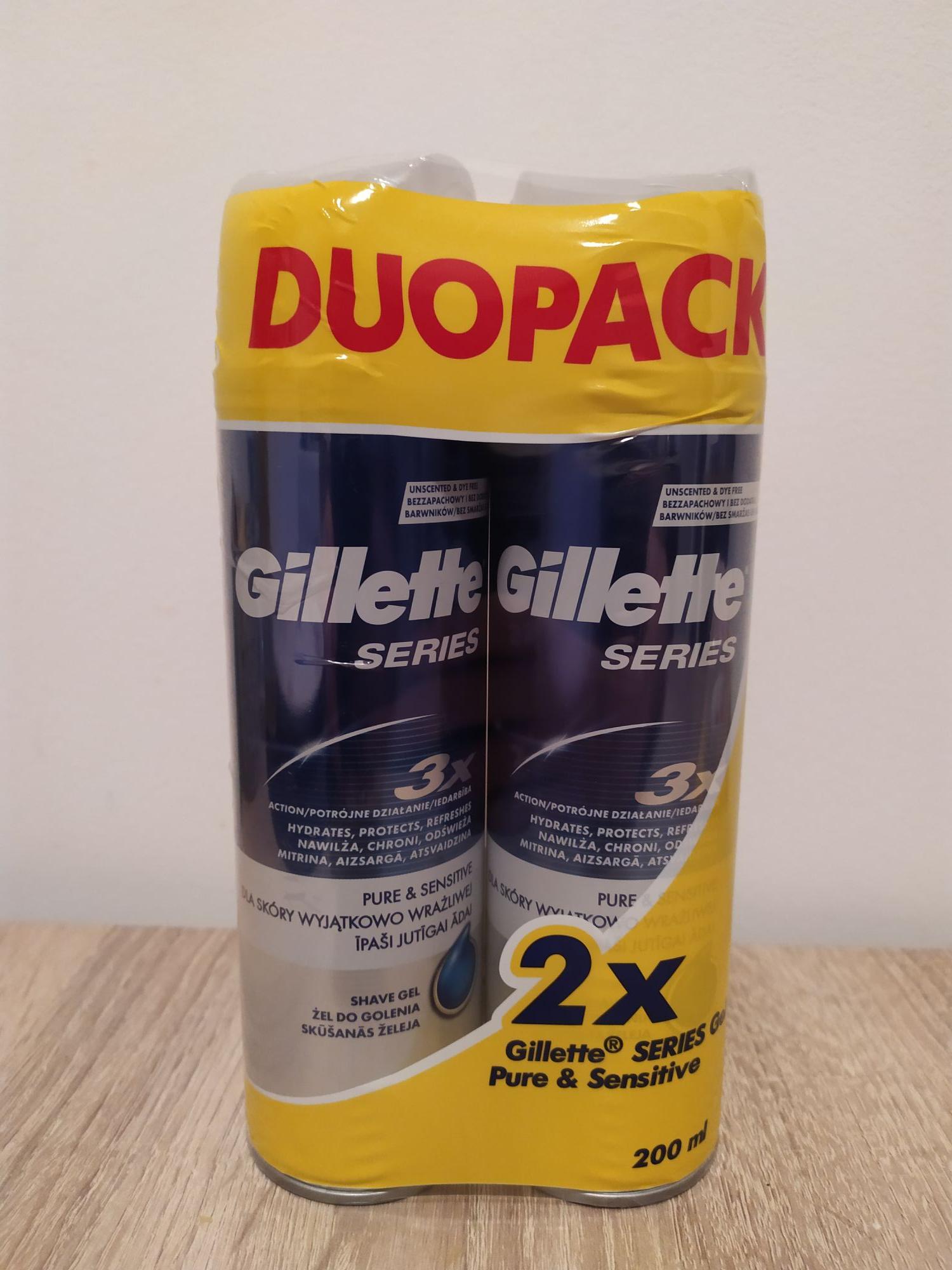 Gillette 2x Żel do golenia Różne rodzaje Auchan