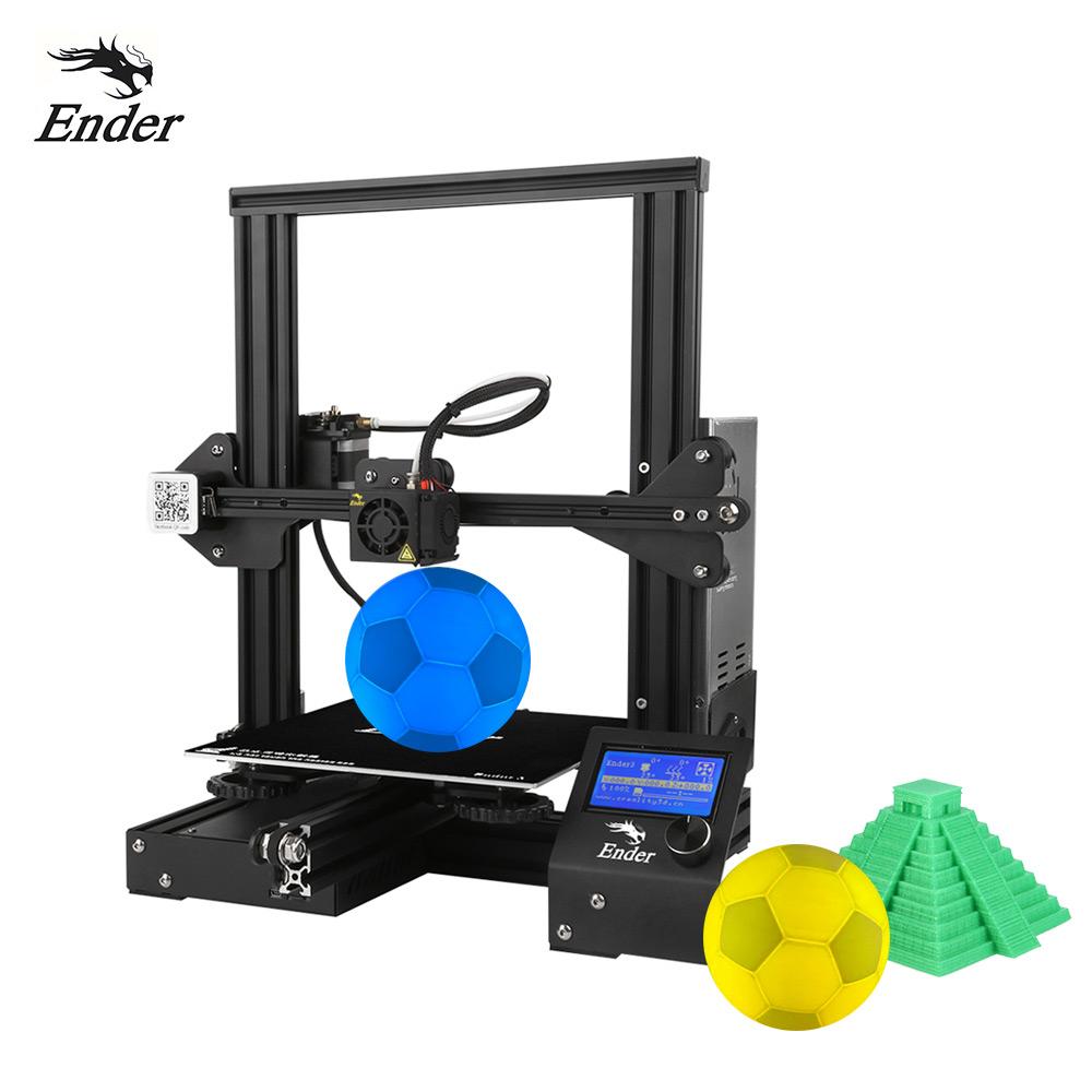 Drukarka 3D Creality Ender 3 (603pln) / 3 PRO (697pln)