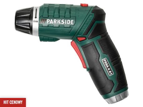 Akumulatorowa wkrętarka z latarką - Parkside - Lidl