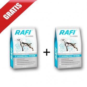 Karma sucha dla psa Rafi classic 2 worki po 10 kg