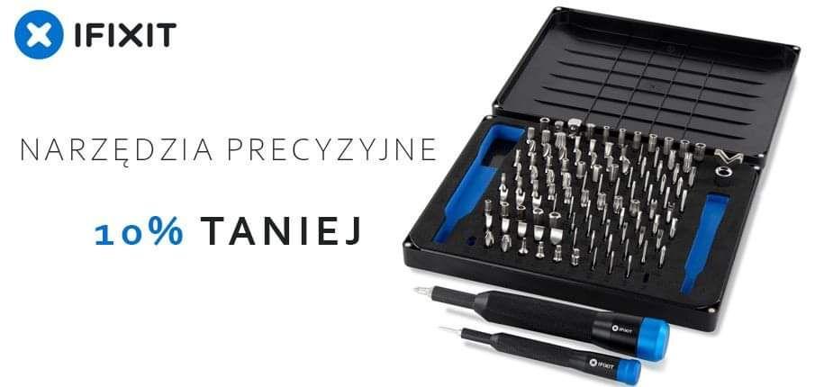 Narzędzia ifixit precyzyjne do napraw np. telefonów, laptopów
