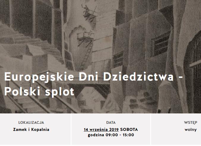Darmowe zwiedzanie w Muzeum Kopalni Soli Wieliczka 14 września