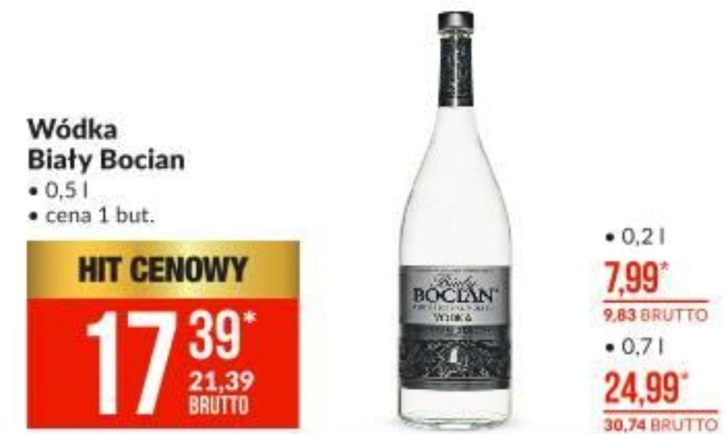 Wódka Biały Bocian 21,39 za 0,5 l - Makro
