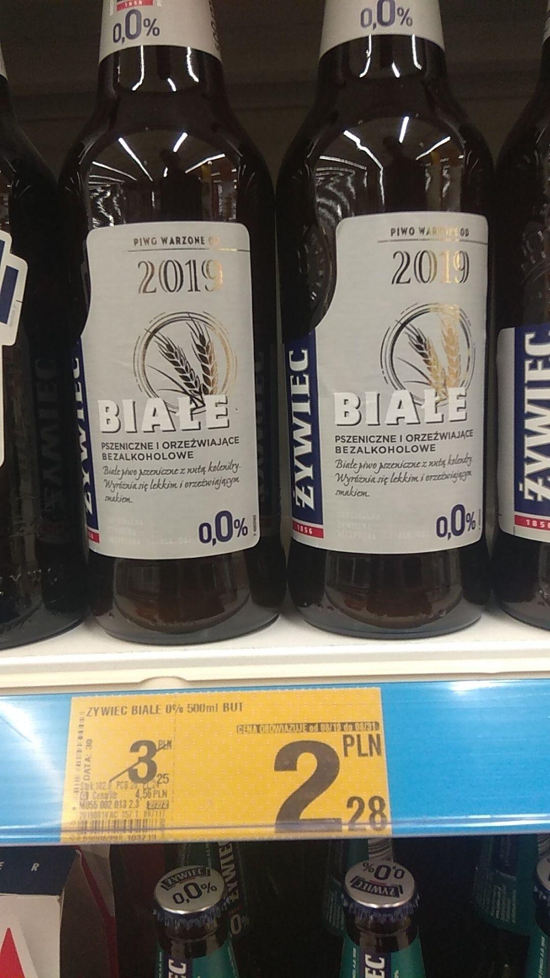 Żywiec Białe 0,0% Auchan Piotrków Trybunalski