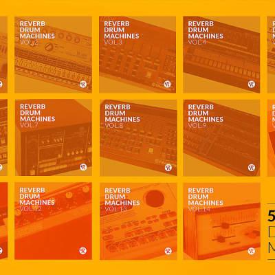 Reverb Drum Machines - Ponad 50 automatów perkusyjnych. Pełna kolekcja.