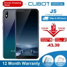 Smartfon Cubot J5 z dostawą z polskiego magazynu @ Aliexpress