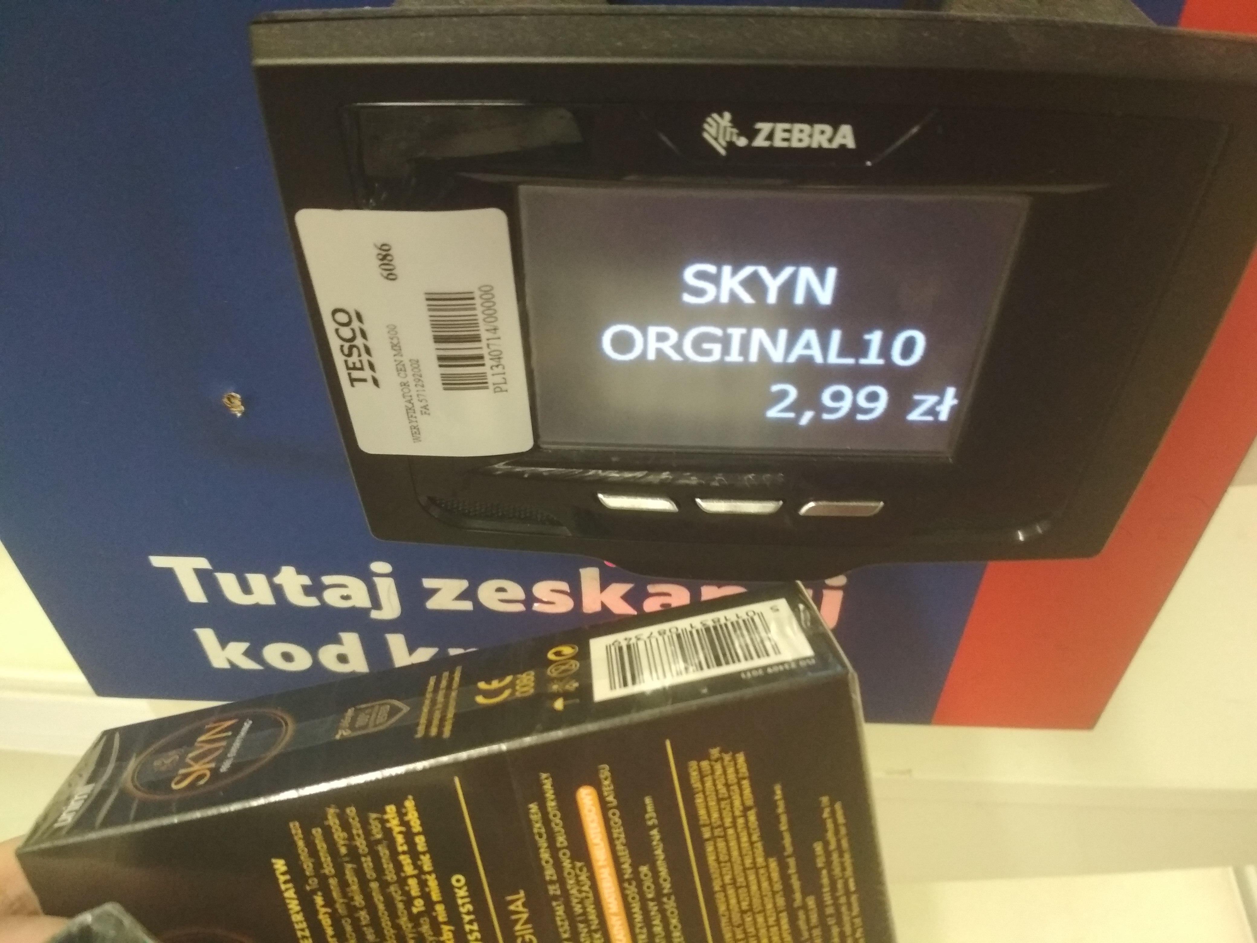 Prezerwatywy SKYN 10 szt. @Tesco Chojnice