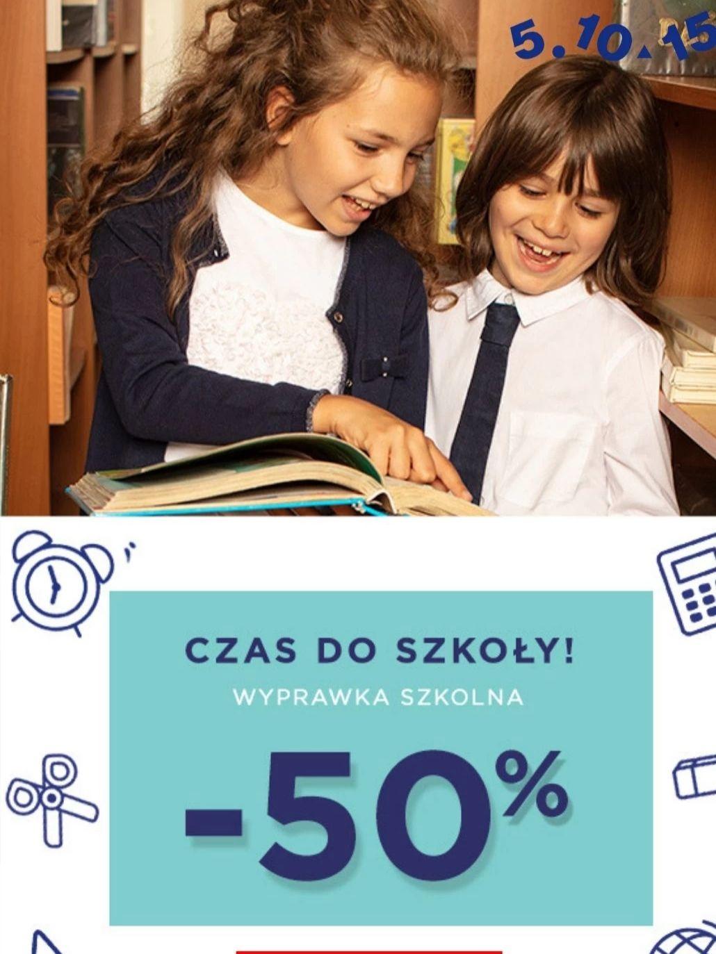 Odzież dziecięca 50% taniej. Dostawa od 8,49 Sklep 5 10 15