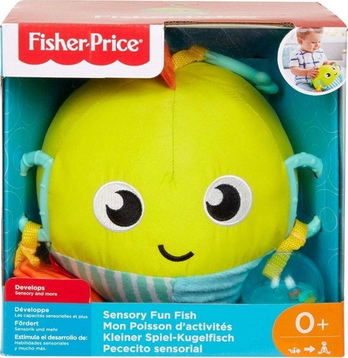 Rybka aktywizująca FISHER PRICE GFC36 Sensoryczna zabawka, odbiór 0 zł (też krokodylek za 19zł i hipopotam za 19zł)
