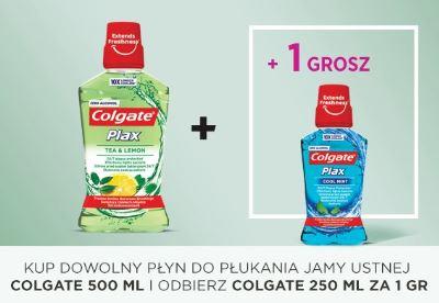 Colgate Plax 750ml za 11,99zł (płukanka gratis) + gratisowy worek @ Natura