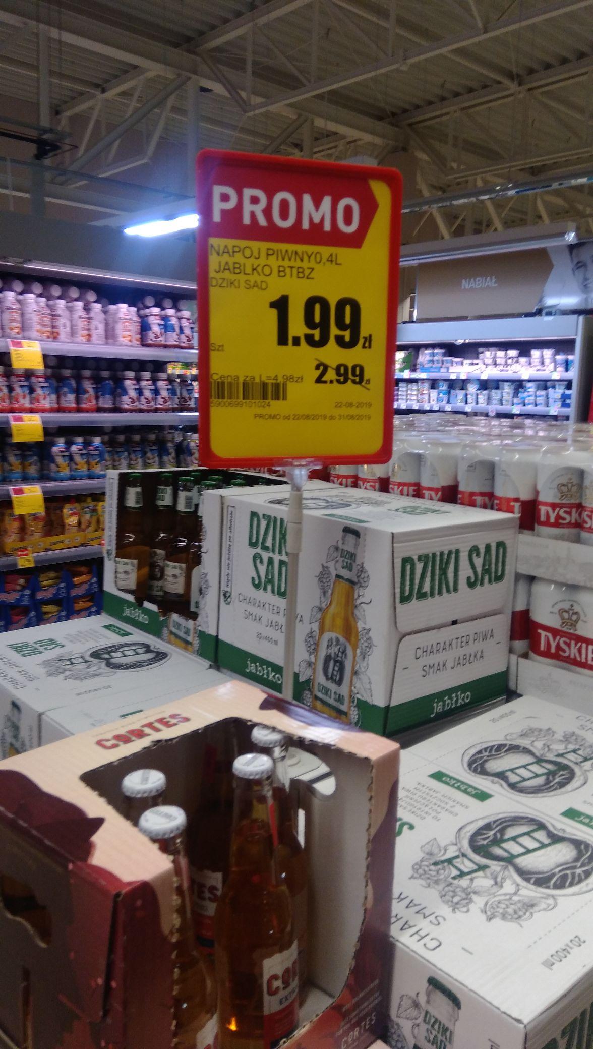 Dziki Sad - napój piwny w dobrej cenie