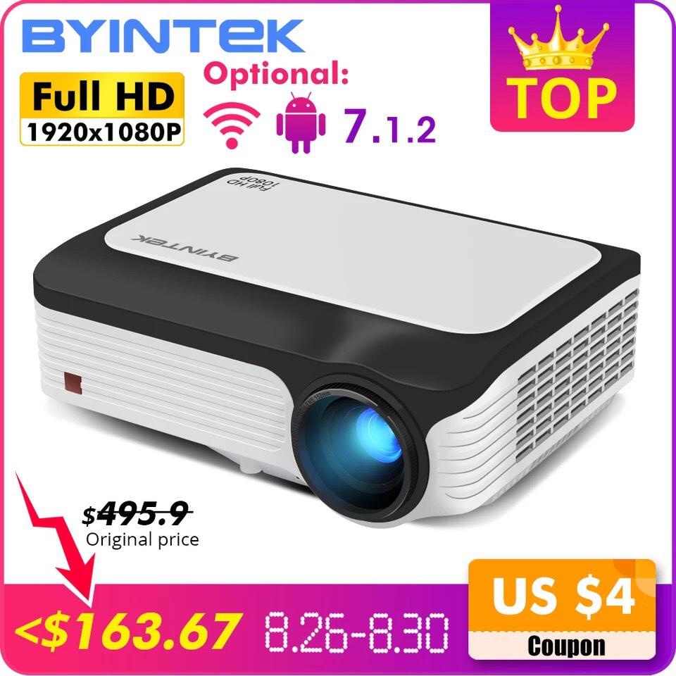 Projektor LED natywne 1920x1080 BYINTEK M1080