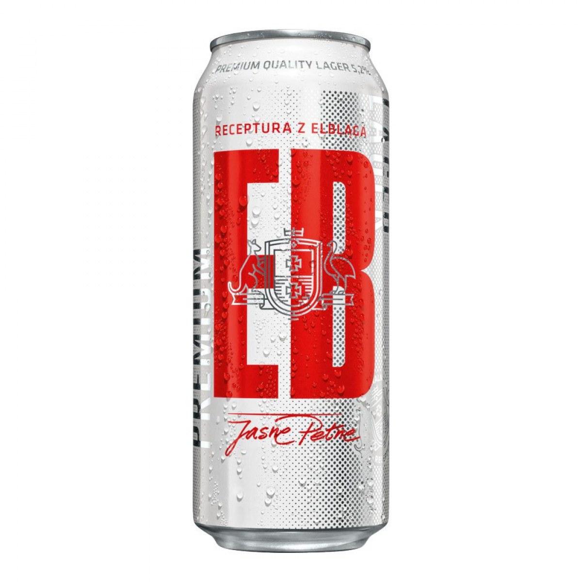 Piwo EB puszka 500ml przy zakupie dwóch 6-paków po 1.69pln @Biedronka