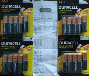 Baterie AA/AAA DURACELL 5-pack